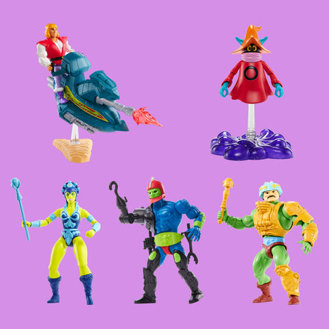 MATTEL x MASTERS OF THE UNIVERSE - ORIGINS - WAVE 2 SET