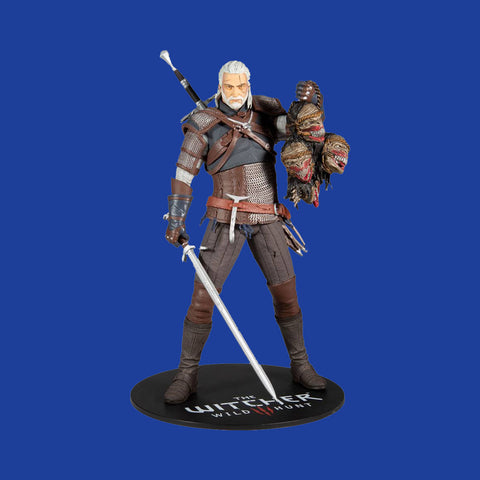 MC FARLANE TOYS x THE WITCHER 3 - GERALT (30CM)