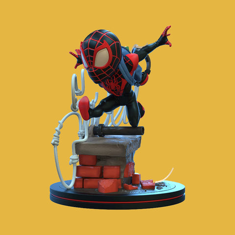Q-FIG ELITE - SPIDER-MAN: MILES MORALIS