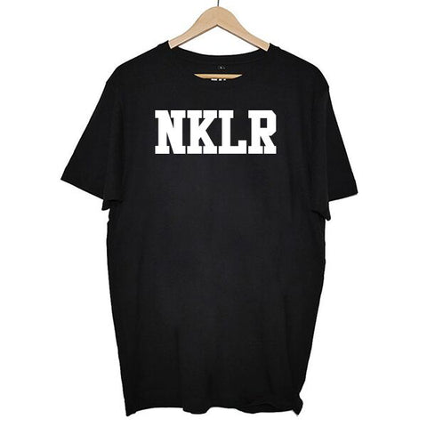 RADIO NUKULAR - NKLR T-SHIRT BLACK