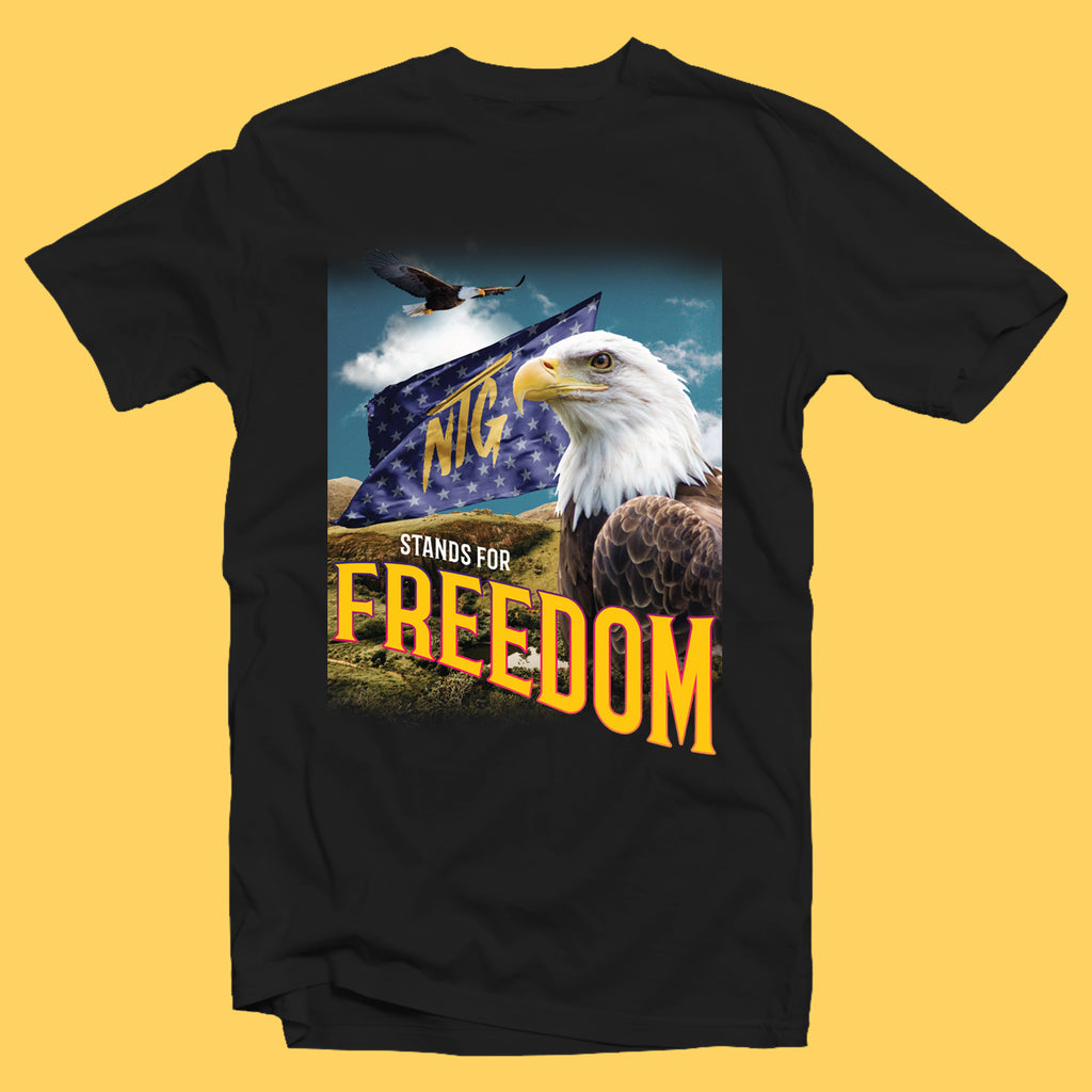 NTG ORIGINALS - FREEDOM SHIRT SCHWARZ