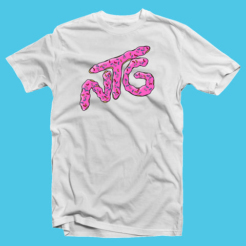 NTG ORIGINALS - DOUGHNUT SHIRT WEISS