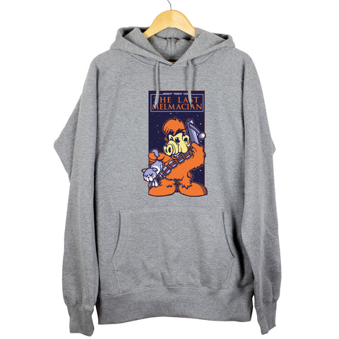 MELMACIAN FINEST - THE LAST MELMACIAN HOODIE GREY