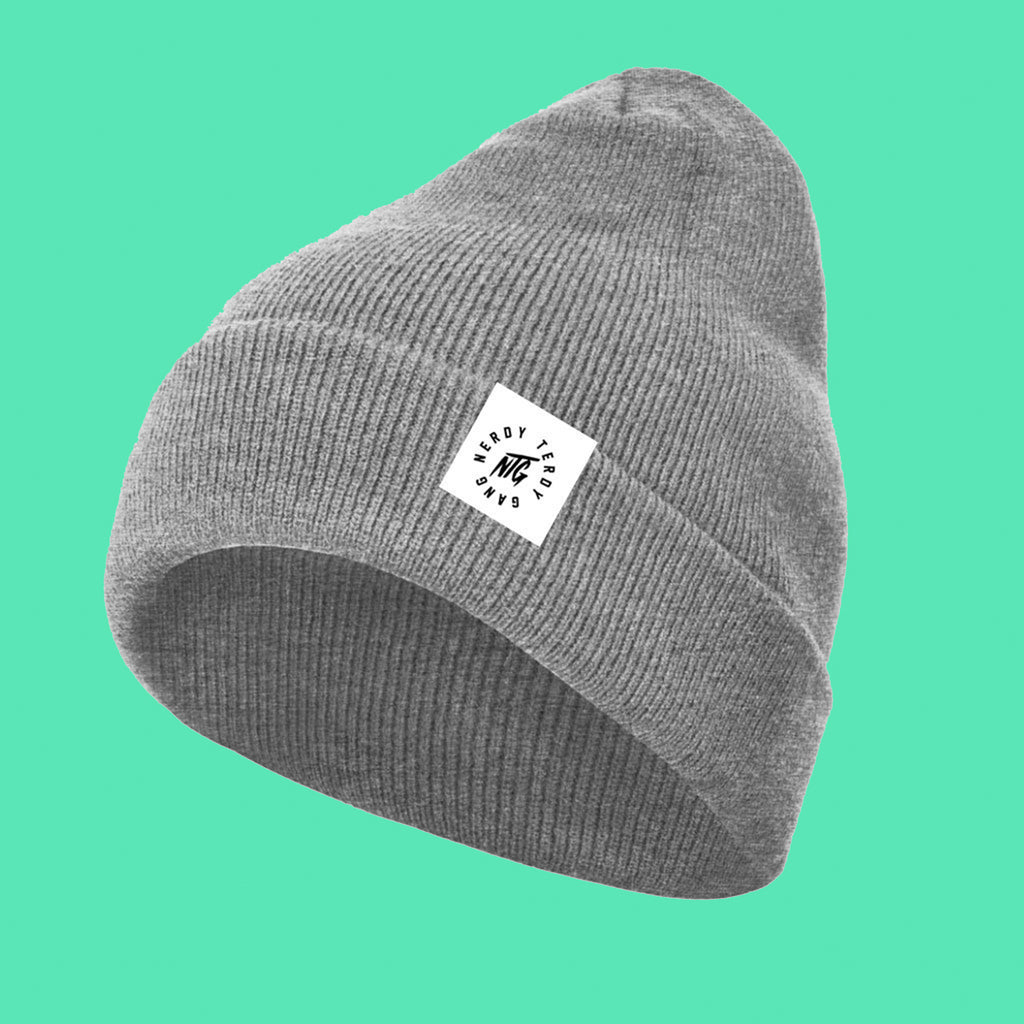 NTG CLASSICS - BEANIE HEATHER GREY