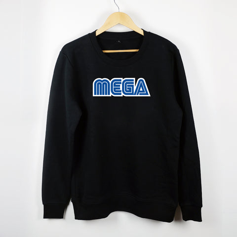 MEGA - CREWNECK BLACK