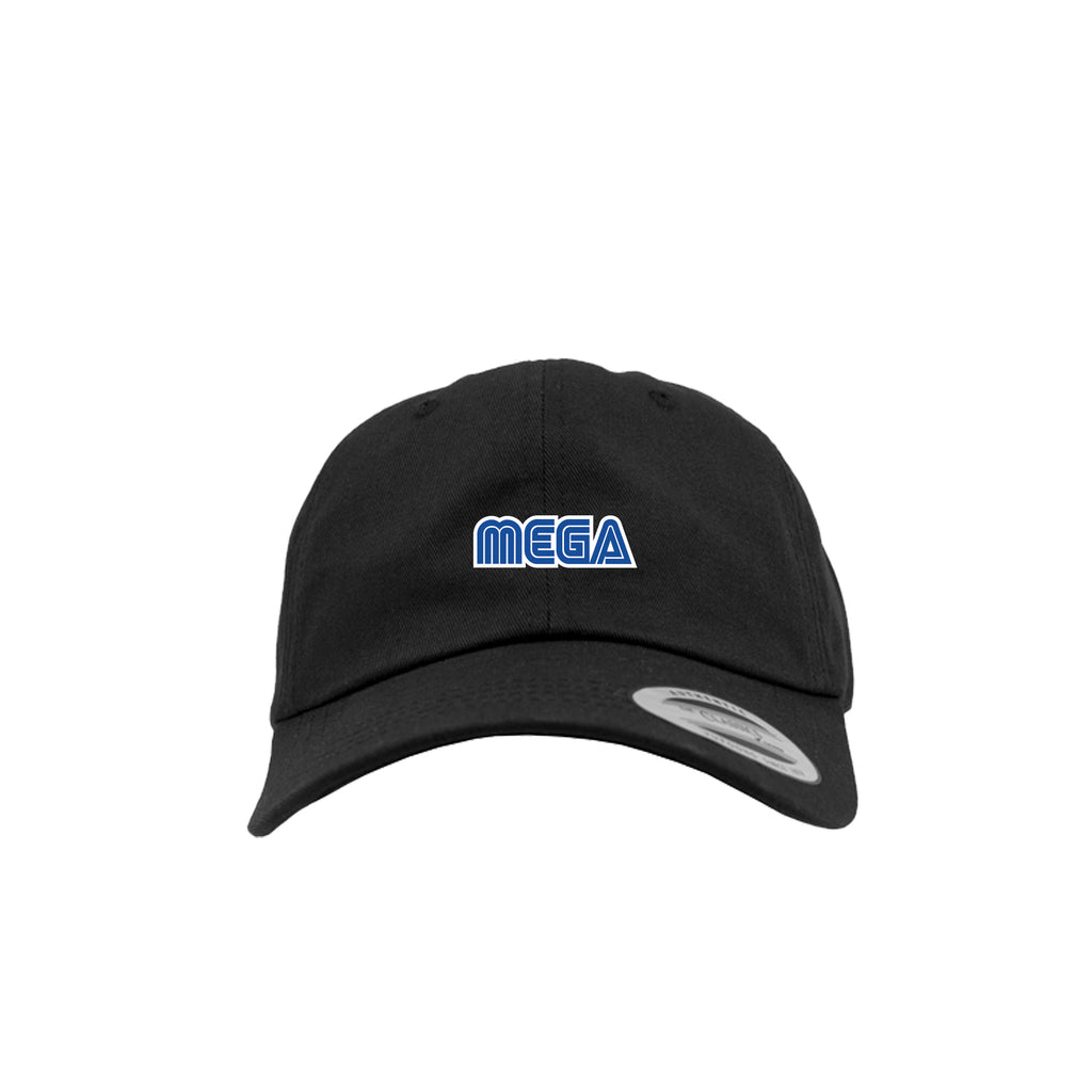 MEGA - DAD HAT BLACK