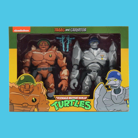 TEENAGE MUTANT NINJA TURTLES x NECA - 90s CARTOON TRAAG & GRANITOR
