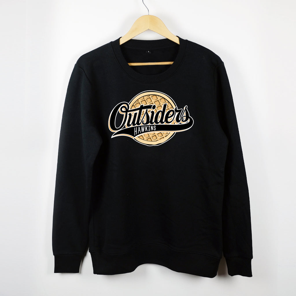 NERDY THINGS SEASON 3 - OUTSIDERS CREWNECK BLACK
