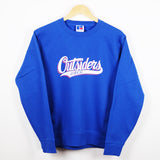 BLOOD SPORTS - HAWKINS OUTSIDERS CREWNECK BLUE