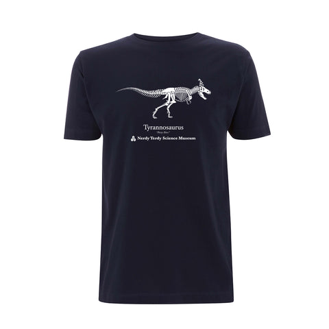 NERDY THINGS SEASON 3 - TYRANNOSAURUS SHIRT NAVY BLUE