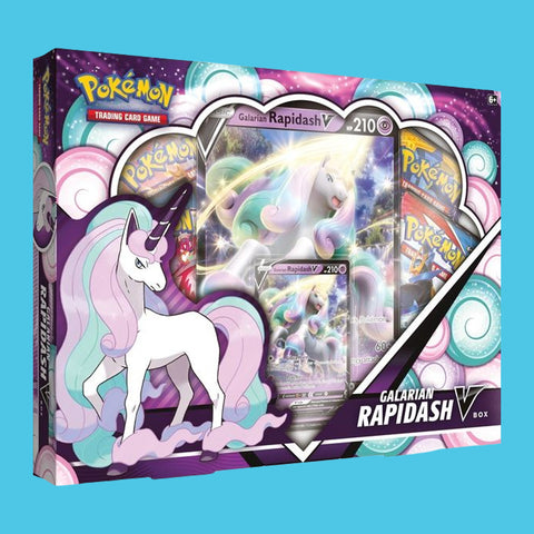 POKÉMON TRADING CARD GAME - GALARIAN RAPIDASH V BOX