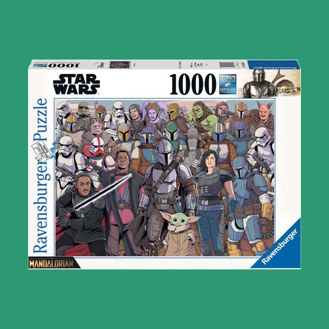 STAR WARS x RAVENSBURGER - THE MANDALORIAN PUZZLE - 1000 TEILE