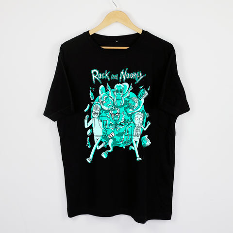 IM AUTOKINO - ROCK AND NOORTY SHIRT BLACK