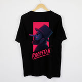 ROCKSTAH - VHS SHIRT BLACK