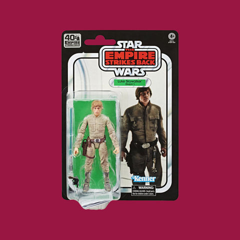 STAR WARS x HASBRO - BLACK SERIES ACTIONFIGUR LUKE SKYWALKER BESPIN OUTFIT (EMPIRE STRIKES BACK 40TH BIRTHDAY)