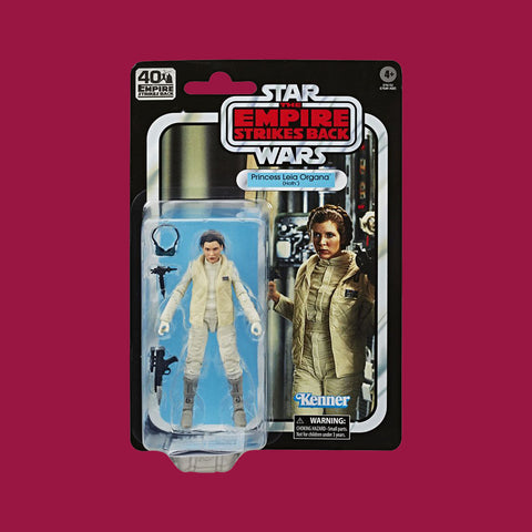 STAR WARS x HASBRO - BLACK SERIES ACTIONFIGUR LEIA ORGANA HOTH OUTFIT (EMPIRE STRIKES BACK 40TH BIRTHDAY)