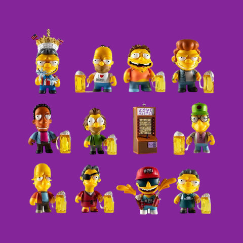 KIDROBOT x THE SIMPSONS - MINI FIGURES MOE'S TAVERNE (BLINDBOX)