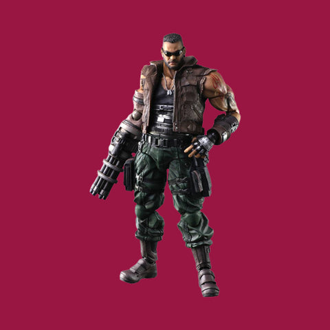 FINAL FANTASY VII REMAKE x SQUARE ENIX PLAY ARTS KAY - BARRET WALLACE (VERS. 2)