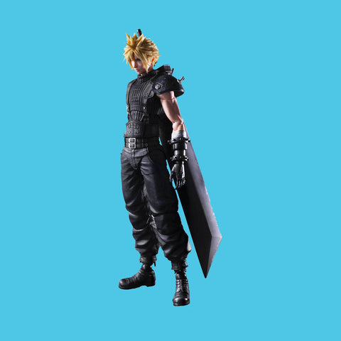 FINAL FANTASY VII REMAKE x SQUARE ENIX PLAY ARTS KAY - CLOUD STRIFE (VERS. 2)