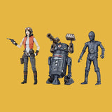 HASBRO / KENNER - STAR WARS VINTAGE COLLECTION - DOCTOR APHRA, BT-1 & TRIPLE ZERO (SDCC EXCLUSIVE)