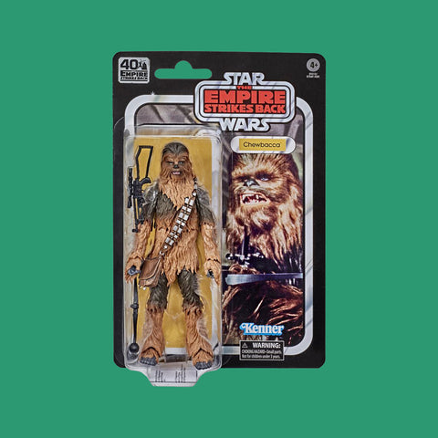 STAR WARS x HASBRO - BLACK SERIES ACTIONFIGUR CHEWBACCA (40th EMPIRE STRIKES BACK)