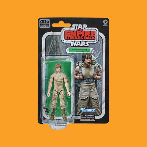 STAR WARS x HASBRO - BLACK SERIES ACTIONFIGUR LUKE SKYWALKER IN DAGOBAH OUTFIT (40th EMPIRE STRIKES BACK)