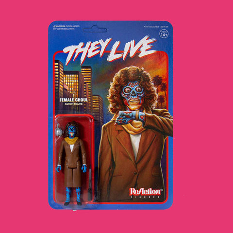 SUPER 7 REACTION x THEY LIVE - FEMALE GHOUL