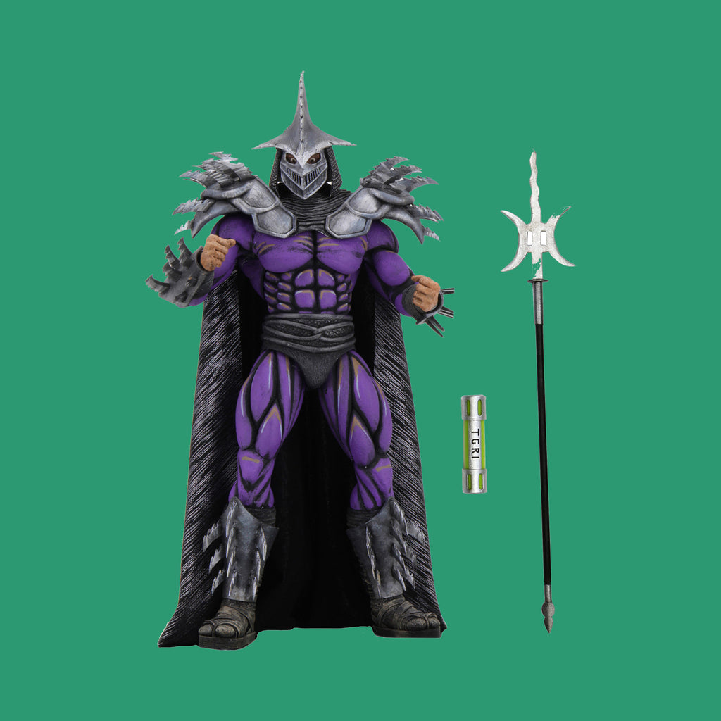 TEENAGE MUTANT NINJA TURTLES II x NECA - 1991 MOVIE ACTIONFIGUR SUPER SHREDDER (THE SECRET OF THE OOZE)