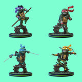 Q-FIG - TEENAGE MUTANT NINJA TURTLES - ALLE 4 FIGUREN IM SET