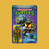 SUPER 7 x TEENAGE MUTANT NINJA TURTLES - REACTION ACTIONFIGUR LEONARDO (10CM)