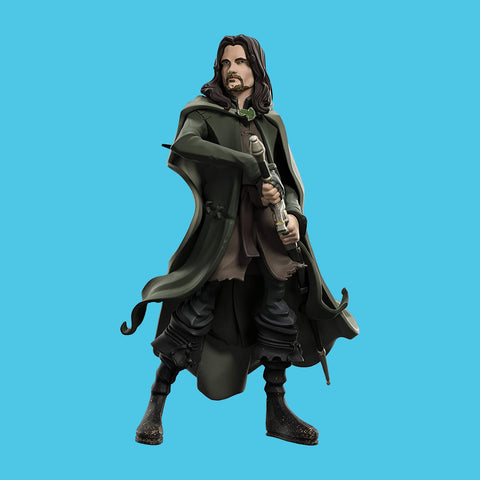 MINI EPICS x LORD OF THE RINGS - ARAGON VINYL FIGUR