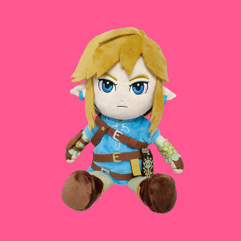 ZELDA - BREATH OF THE WILD - LINK PLÜSCH 21CM