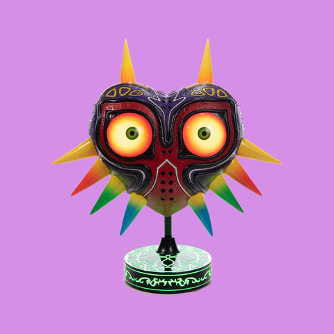 FIRST 4 FIGURES - THE LEGEND OF ZELDA - MAJORA'S MASK STATUE - COLLECTORS EDITION 30CM