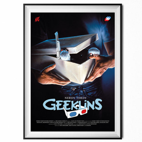 GEEKLINS - MOVIE ART PRINT