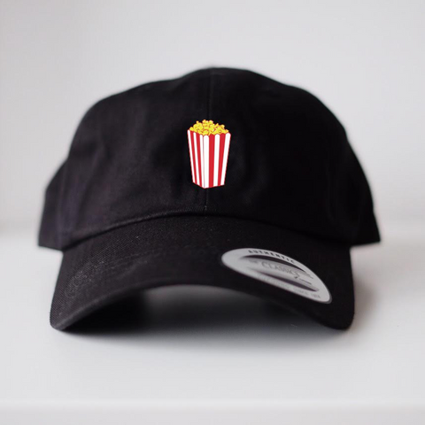 IM AUTOKINO - POPCORN DAD HAT BLACK