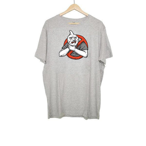 CHOKING HAZARD - LOGO T-SHIRT GREY