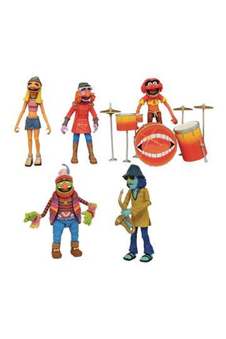 THE MUPPETS - ACTIONFIGUREN BOX SET BAND MEMBERS SDCC 2020 EXCLUSIVE