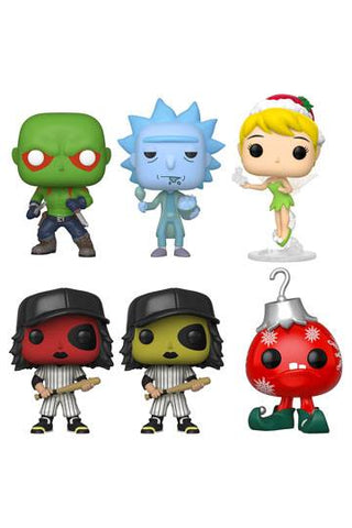 FUNKO - WEB BUNDLE EXCLUSIVE POP! VINYL FIGUREN 6ER-SET HEO EU EXCLUSIVE 9 CM