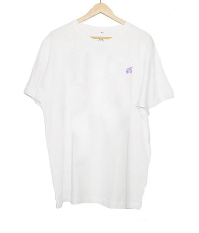 NTG DELUXE - STITCHED LOGO 2.0 SHIRT WHITE & PURPLE