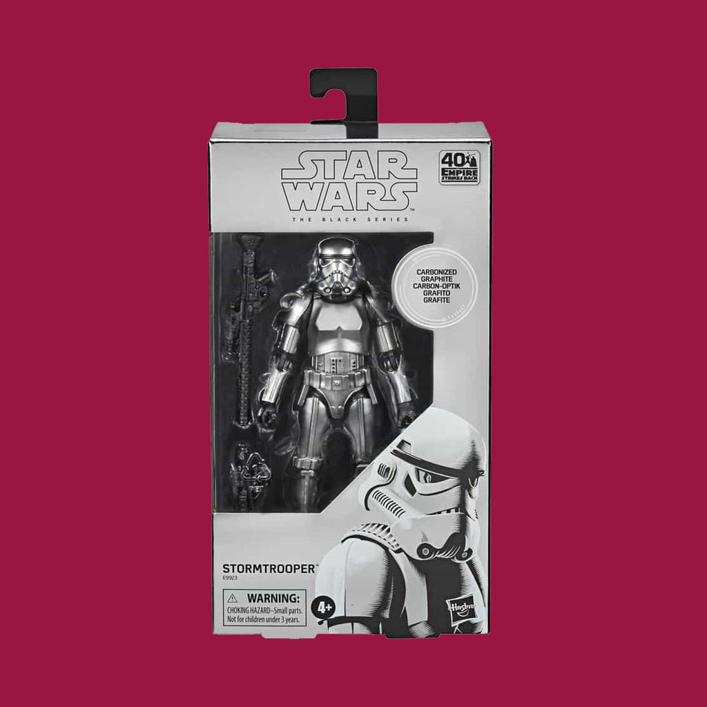 STAR WARS x HASBRO - BLACK SERIES STROMTROOPER CARBONIZED (THE EMPIRE STRIKES BACK)