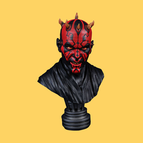 STAR WARS - EPISODE 1 LEGENDS - DARTH MAUL BÜSTE - LIMITED / DIAMOND SELECT