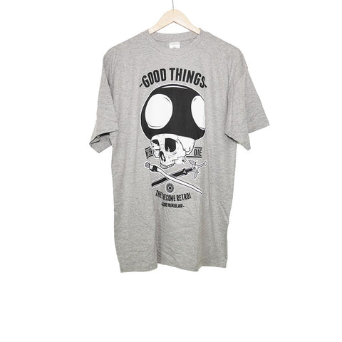 RADIO NUKULAR - GOOD THINGS T-SHIRT GREY