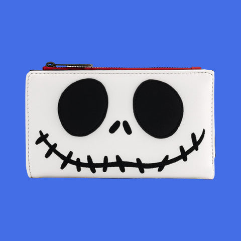 LOUNGEFLY - NIGHTMARE BEFORE CHRISTMAS JACK SKELLINGTON WALLET