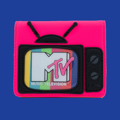 LOUNGEFLY x MTV - TELEVISION BI-FOLD WALLET