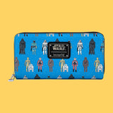 LOUNGEFLY - STAR WARS ACTION FIGURES WALLET