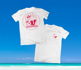 SUMMER IN OKINAWA - MANEKI NEKO SHIRT WEISS
