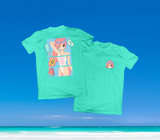 SUMMER IN OKINAWA - DAY AT THE BEACH SHIRT MINT