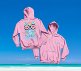 SUMMER IN OKINAWA - ICEY CAT HOODIE PINK