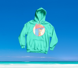 SUMMER IN OKINAWA - SO MUCH KAWAII! HOODIE MINT