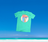 SUMMER IN OKINAWA - SO MUCH KAWAII! SHIRT MINT